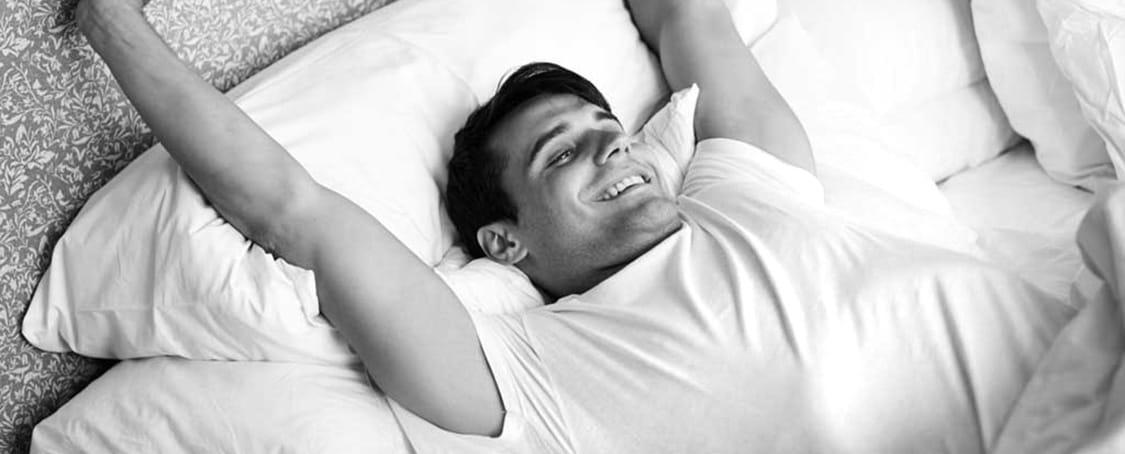 Wer unsere Zufriedenheitsgarantie genießt, schläft garantiert besser.